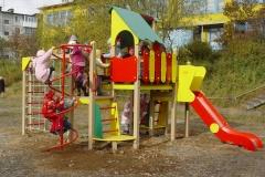 Осторожно детская площадка